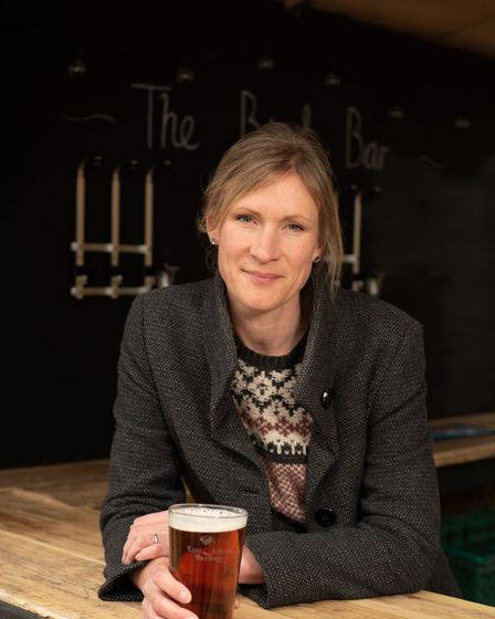 Lucy Batchelor-Wylam, committee member at the community run pub, The Duke of Marlborough. Picture: