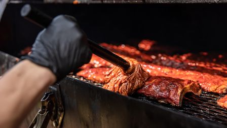 Some of the barbecue food at Smoke & Fire Festival, which is taking place in Castle Park, Colchester