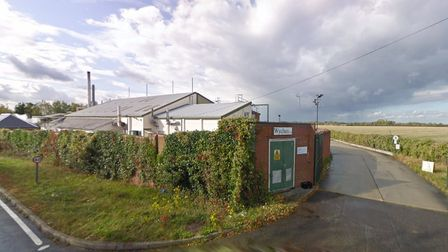 Fire engines were called to the Wychem plant in Stradishall, between Haverhill and Bury St Edmunds