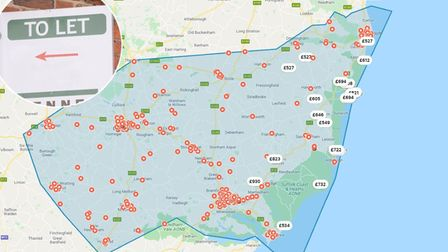 High-cost Airbnb lets in East Suffolk could be fuelling the few rental properties on Rightmove.