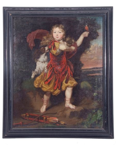Nicholaes Maes' 'Portrait of a Young Boy in Red' will go under the hammer at an upcoming Keys auction.