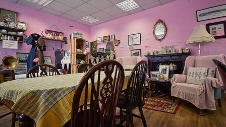 Cooks Family Vintage Tearoomin March is one of the best places to enjoy afternoon tea in Cambridgeshire.