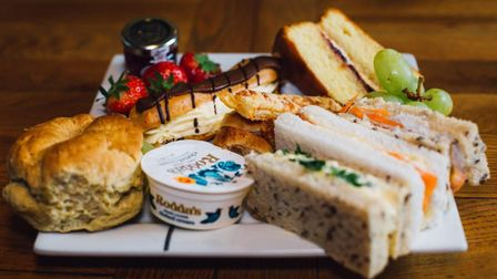 The Exchange in March is one of the best places to enjoy afternoon tea in Cambridgeshire.