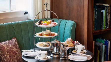 Parker's Tavern at The University Arms in Cambridge is one of the best places to enjoy afternoon tea in Cambridgeshire.