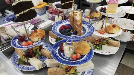 Cooks Family Vintage Tea Room in March is one of the best places to enjoy afternoon tea in Cambridgeshire.