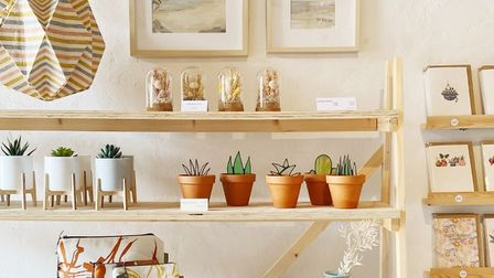 Thrive Collective's summer pop-up shop at Helmingham Hall features more than 20 talented Suffolk and Norfolk makers