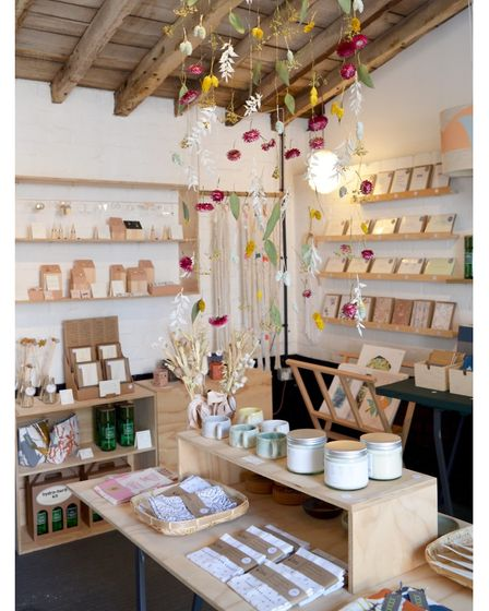 The Thrive Collective pop-up shop at Helmingham Hall runs until September 19