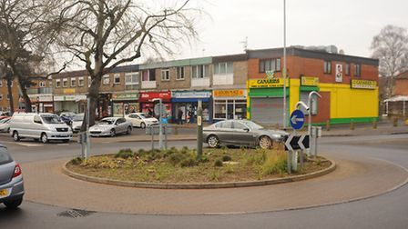 The Woodcock Road and Catton Grove Road roundabout, which may be turned into a 'Dutch style ' rounda