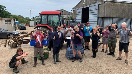 Clinks Care Farm has received a £1,000 donation from Persimmon Homes Anglia