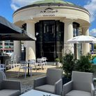 Townhouse 360 tapas bar withall round view of St Katharine's
