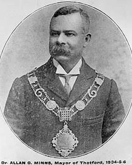 AllanGlaisyerMinns became mayor of Thetford in 1903. The first black mayor to be elected in the history of Great Britain.