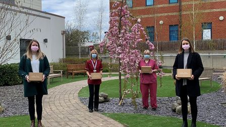 littlelifts care boxes at Colchester Hospital