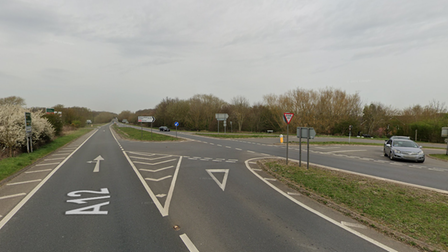 Residents are concerned over the safety of the A12 junction at Saxmundham