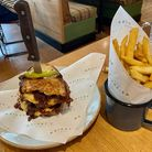 The Bloody Mary-infused beef short rib sandwich and fries at Wright's Cafe in Bury St Edmunds