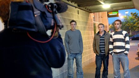 Reconstruction into the disappearance of Luke Durbin by Anglia TV
