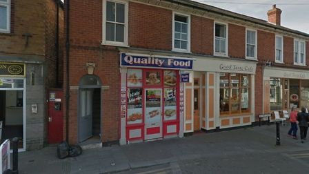 The incident happened at Quality Food in Walton-on-the-Naze