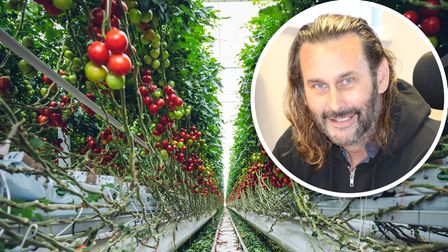 Karl Farrow ofCeraPhi Energy is urging farmers to explore the opportunities of growing food in geothermal greenhouses