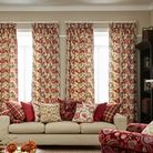 Arts_&_Crafts_Ruby made to measure curtains from Alidss