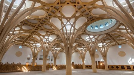 Cambridge Central Mosquewas crowned a regional winner of the Royal Institute of British Architects awards