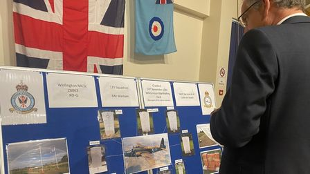 Displays were on show, providing information on the tragic event. PICTURE: Katie Woodcock
