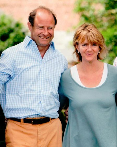 Bridget and Anthony Hyde Parker, owners of Smeetham Hall Barn