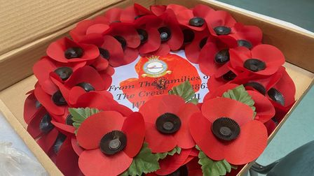 A number of wreaths were placed at the memorial during the memorials service.