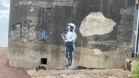 Has more of Banksy's artwork been spotted in East Anglia?