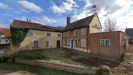 The Greyhound Inn will be going up for auction next month