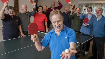 Heacham Table Tenns Club are celebrating being awarded £6000, to help imporve their playing faciliti