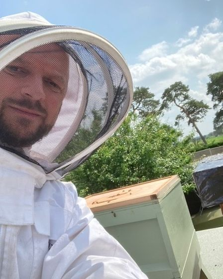 Beekeeper Simon Ross now has 60,000 bees in the colony he started during lockdown