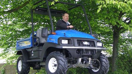 New Holland has launched its 4WD utility vehicle to the UK market, the Rustler 120.