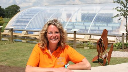 Kate Humble's aquaponics solar greenhouse is the first of its kind in the UK