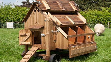 A sturdy Stables hen house