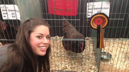 Laura Ranson of Rough Hill Poultry