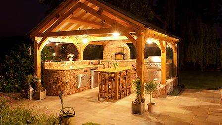 Cheshire cookhouse with pizza oven