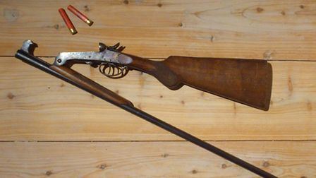 A .410 shotgun is perfect for on-farm slaughter of livestock