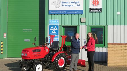Stuart Wright wins exceptional performance 2015