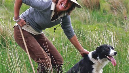 Katy Cropper, first female winner of the BBC's One Man & His Dog, who will be appearing at the Royal