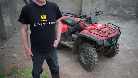 Quad bikes are a top target