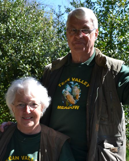 Alan and Sylvia Williams have created an oasis for wildlife on their 11-acre smallholding