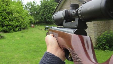 A telescopic sight is essential