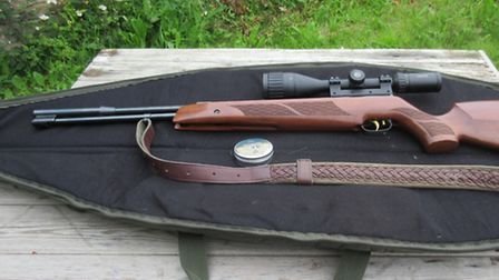 Charlie Portlock's rifle of choice - the Weihrauch HW97K in .177