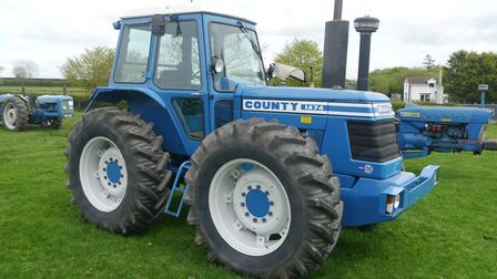 With four equal-sized wheels, in its day nothing could beat a County for sheer pulling power