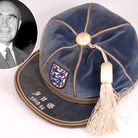 The England cap Sir Alf Ramsey won against Yugoslavia in 1950 is set for auction in Bury St Edmunds