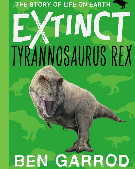 One of the colourful new series of children's books by Ben Garrod, each focusing on an extinct animal