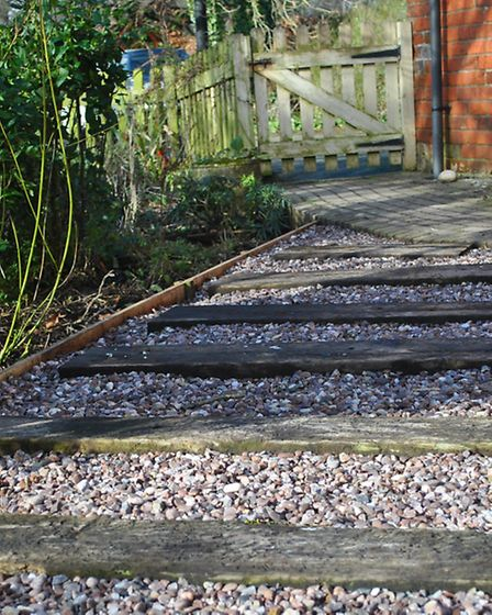 Your chickens will scratch and poo on pathways, so making sure you have the right substrate in place