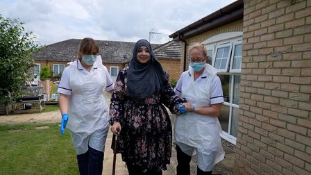 Hajrah was able to leave us much sooner than anyone had initially expected due to her determination, motivation and hard work