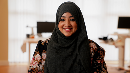 The first-time mother thanked Askham Rehab for enabling her to get her life back and be a mum to Huzayfah