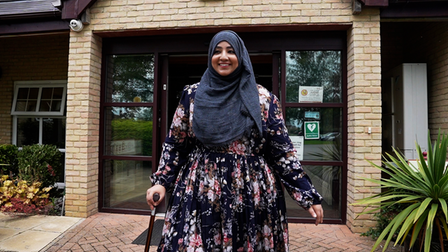 Upon arrival, Hajrah required specialist treatment from Askham Rehab's multidisciplinary team