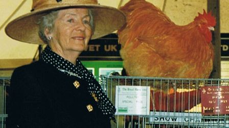 The Duchess of Devonshire - a poultry enthusiast